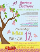 Spring Boutique Fundraiser - Craft Show/Benefit for LIttle Sisters of the Poor