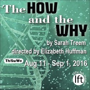 The How and the Why by Sarah Treem – colleagues theorize evolution of woman, opens Aug 11