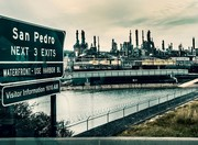 """LA Living Space: Photographs by Ellie Zenhari"" Explores Environmental Impact of Port of LA"