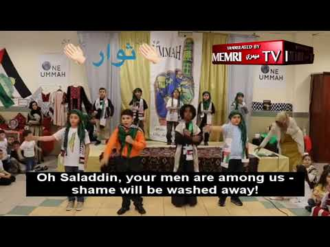 Children in Philadelphia Muslim Society: We Will Sacrifice Ourselves for Al-Aqsa