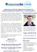 Jornadas sesiones Micronumerología Terapéutica por teléfono con descuento