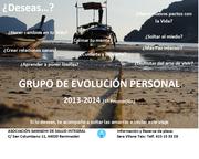 GRUPO DE EVOLUCIÓN PERSONAL del 7 de octubre al 10 de julio 2014