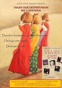 """Presentación del libro """"Viajes que despertaron 5 mis sentidos"""", por la escritora Elena García Quevedo"""