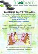Canto prenatal  en Huesca
