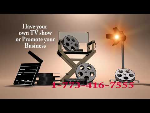 Promote your business to increase sell or let us make you a TV show today