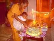 Happy Birthday to You, Isabella Rosemay Quemotuluku...May the Lord continue his blessings to you