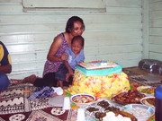 Paigata and Anthony 1st Birthtday