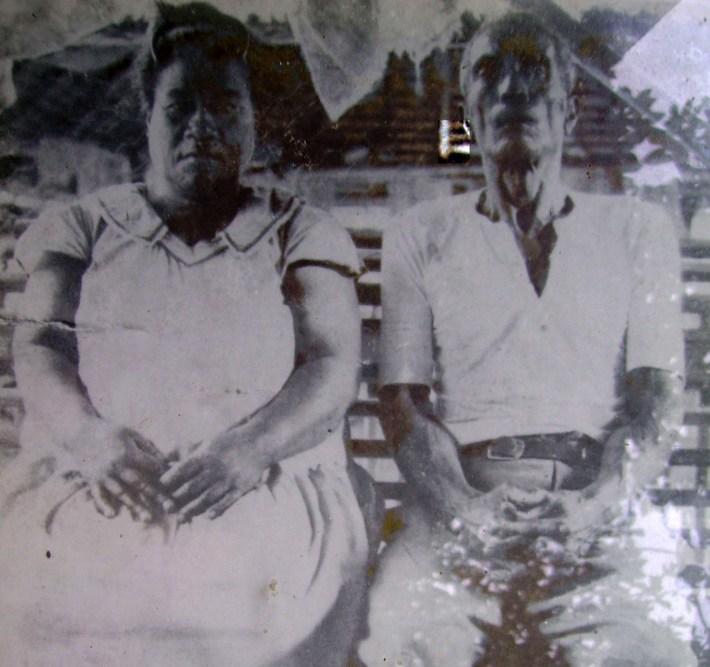 Kamaata and wife Nei Tibora - my maternal greatgrand-parents