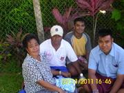 Aintoa Fiji Tour 2011..Taitai n family.