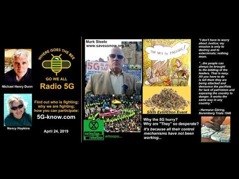 """""""Radio 5G"""" 4/24/19 Mark Steele - What is the story of 5G?"""