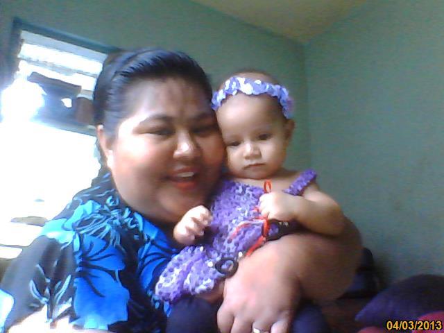 Me and my grand-daughter Martha-Mataa