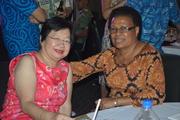 Lorraine Seeto & Mrs Ledua