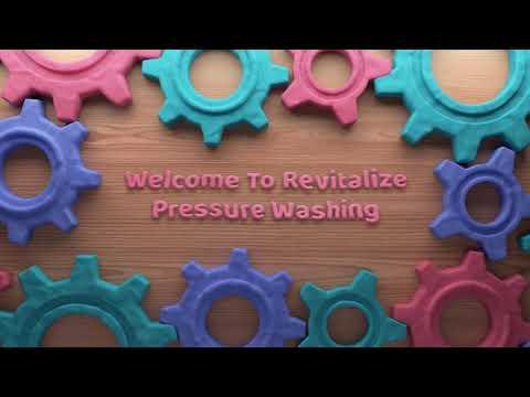 Revitalize Pressure Washing : Gum Removal in Houston