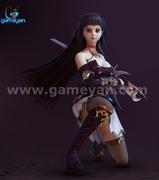 Seria – Beautiful 3D Character Animation Model By GameYan Game Development Companies