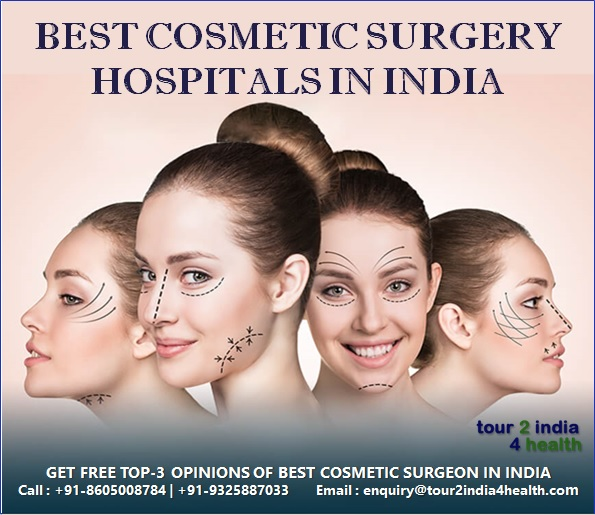 Best Cosmetic and Plastic Surgery Hospitals in India