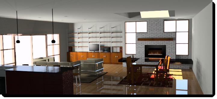 Interior rendering tutorial - Flamingo nXt