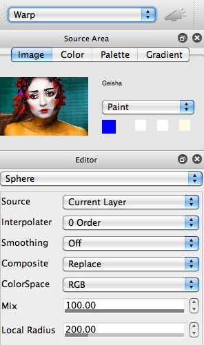 Working with Interactive Warps – STUDIO ARTIST USER FORUM