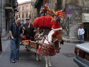 Randy in Monreale, Sicily