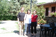 Harriet, Elisabetta and me - Tuscany South