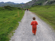 Logan's first hike
