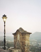 View over Priego's walls
