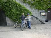 Renting bikes in Kaub