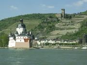 Kaub with Pfalz