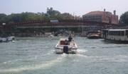 The Calatrava bridge in Venice