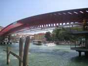 Venice's fourth Grand Canal bridge, the Calatrava bridge