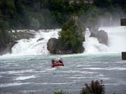 Rhein Falls in Schaffhausen, Switzerland