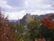 Schoenburg castle in Autumn - Oberwesel Germany