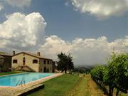 Pool at Le Chiuse, Montalcino