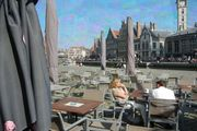 Centre of the city of Ghent, Belgium