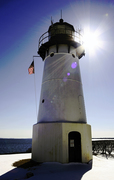 Light House in the sun