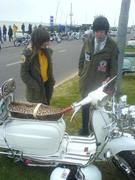 me and sean at great londn rideout