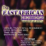 The EAST African Homecoming 10th February 2013
