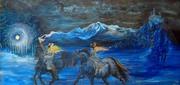 Night ride of the Valkaries