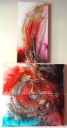 Divine wisdom guides me, Acrylic on canvas, 2040,2007