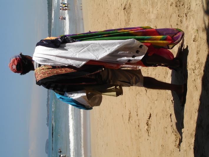 Vendor at Beach