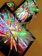 "[dNASAb] ""Video Blossom[video sculptures] "" installation view, 2007"