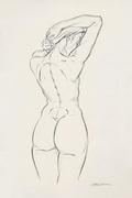 quick back sketch
