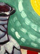 The Art of Still Life: Variation 27 (4 flags in 1 flag) DETAIL