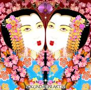 (detail from) 'The Fabulous Geisha Girls'