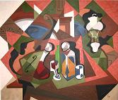 Cubist Dining Room