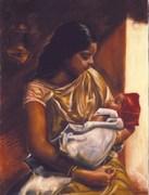 Maternità Indiana 60x80
