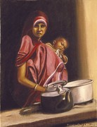 Madre Indiana 50x60