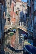 Una fría mañana en Venecia!