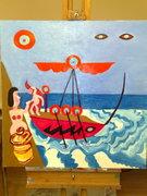 The Art of Still Life: Variation 29 (Penelope bids farewell to Odysseus)