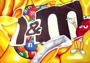 Wrinkled M&M's™ Wrapper