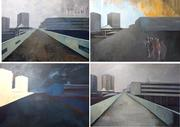 4 tenements paintings